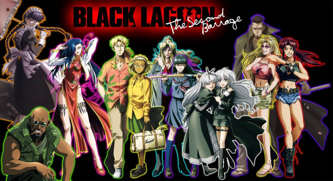 Black lagoon wallpaper 3