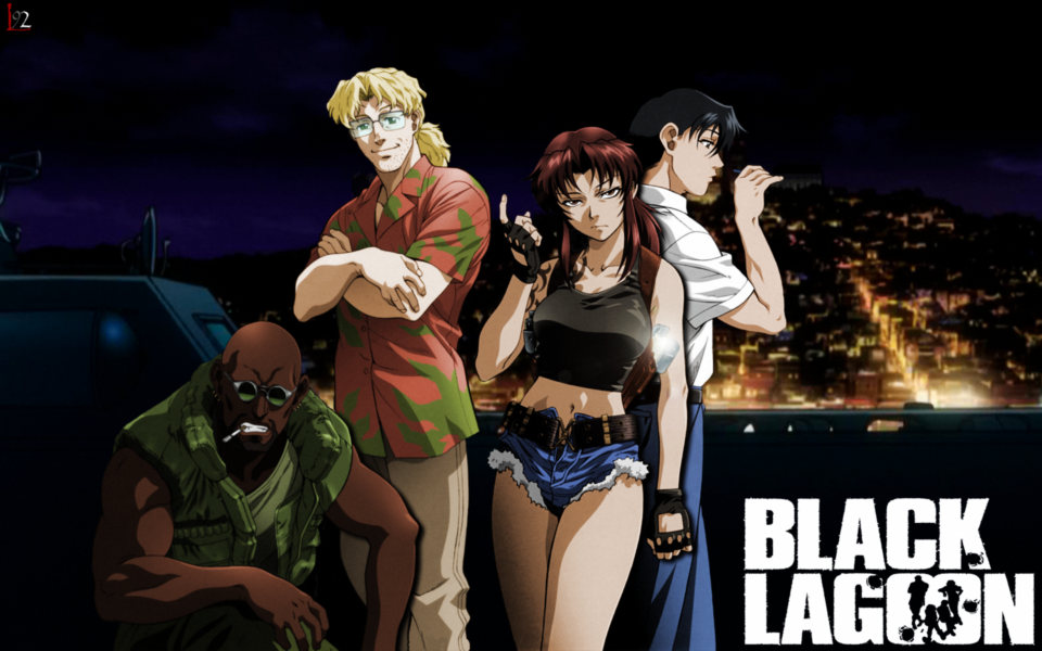 Black lagoon wallpaper 7