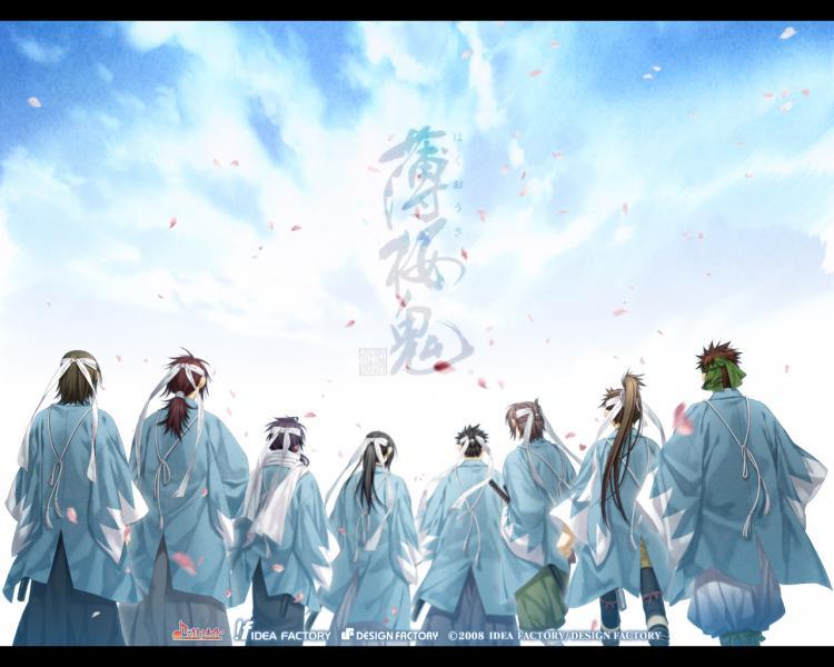 Hakuouki shinsengumi kitan wallpaper 1